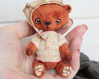 Bro ChocoPie. Honey - Artist Teddy Bear OOAK