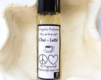 Organic Homemade Perfume All Natural Perfume Roll On Perfume Chai Latte