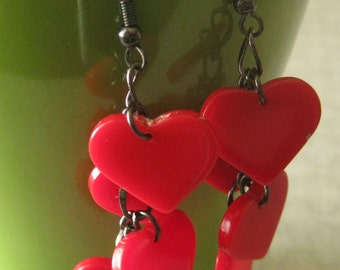 My Heart's Aflutter For You earrings