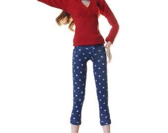 Momoko clothes (leggings): Toma