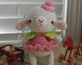 Amigurumi Little Sheep with Lime Shawl