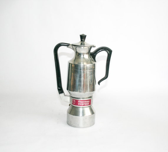 vintage italian coffee maker la signora thermos express. Black Bedroom Furniture Sets. Home Design Ideas