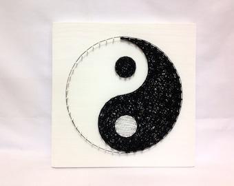 Decoration yin yang for Deco yin yang