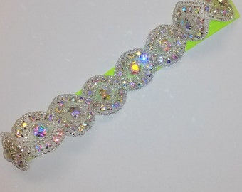 Crystal Flower Girl Headband