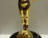 "6"" Tall Personalized Achievement Oscar Trophy - Award Figure - Engraved FREE"