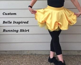 Custom Belle Inspired Running Skirt