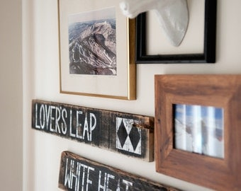 Ski lodge decor etsy for Ski decorations for home
