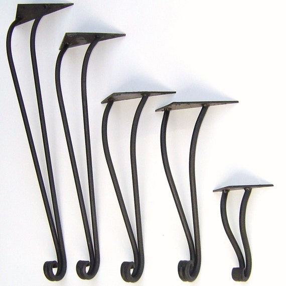 traditional style hand forged iron table leg by maidens of. Black Bedroom Furniture Sets. Home Design Ideas