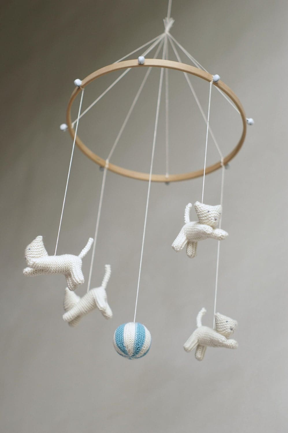 Baby Mobile Kitten Mobile Cat Mobile Baby Gift By Patricija