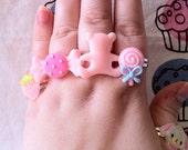 Lucky Pack of 5 Kawaii Rings