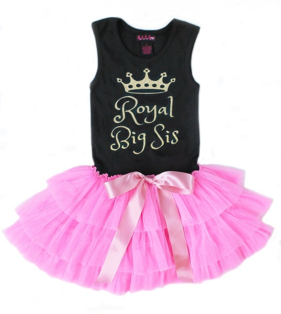 foto de Big Sister Shirt Big Sis Dress Big Sis Tutu Royal Big