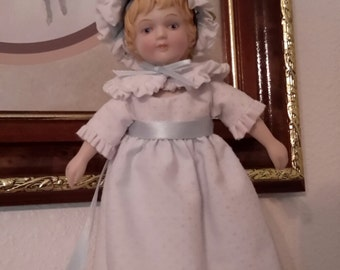 Avon Porcelain Doll, Vintage Avon Doll, Small Standing Porcelain Doll, Collectible Doll, Home Decor, Gift Giving