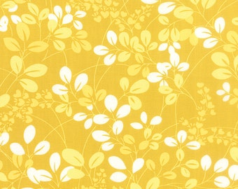 Yellow Sprigs floral fabric from the Simply Colorful collection by V and Co for Moda Fabrics