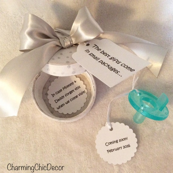 Pregnancy Announcement to Grandparents and Family Keepsake – Baby Announcement for Grandparents
