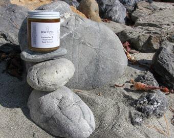 Lavender & Rosemary Salt Scrub