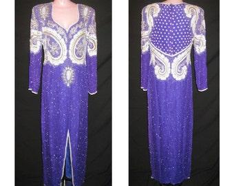 Long purple gown # 107
