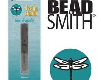BeadSmith 6mm Dragonfly Metal Stamp (LPSD57)