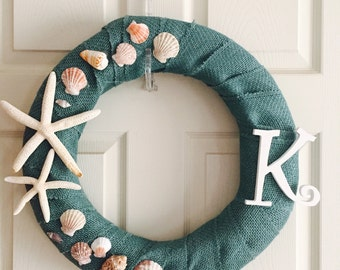 Personalized Beach Wreath