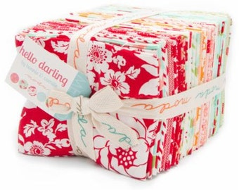 In Stock Now!!  Hello Darling by Bonnie & Camille for Moda Fat Quarter Bundle