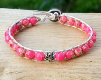 Bead bracelet woman, Chan luu bracelet, handmade beaded bracelet, womens bracelet, beaded bracelet, beaded wrap bracelet, bohemian jewelry