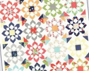 Fireworks Quilt Pattern by Camille Roskelley of Thimble Blossoms