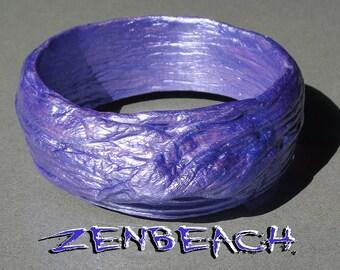 """Zenbeach ~Mystic Indigo Purple~ Bracelet - 2.75"""" Diameter"""