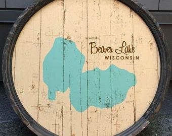 Beaver Lake, WI Barrel End