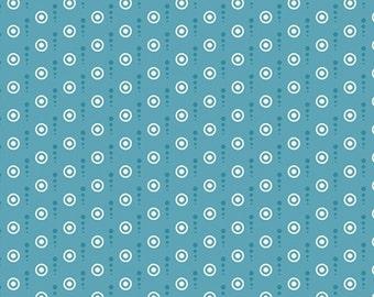 Sunny Days Aqua Blue Mini Dots by Benartex - 728-55