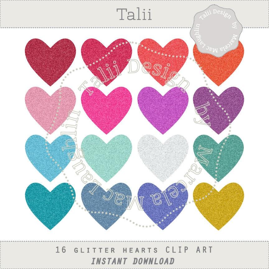 Glitter Heart Shape Stock Photos - Image: 15434343