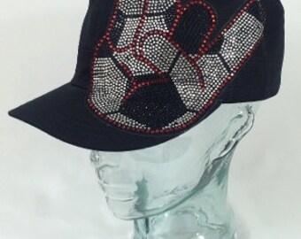Soccer hand hat