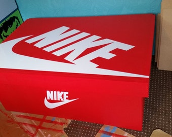 XL / Giant Trainer (16pairs)/ Sneaker Storage Boxes, Nike, gift for him, birthday present, gift, present, handmade, personalised