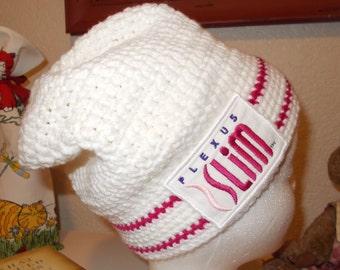 Slightly Slouchy Plexus Crocheted Hat