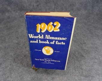 World Almanac and Book of Facts 1962
