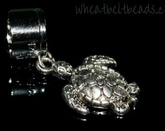 Silver colour turtle ear cuff