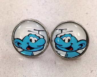 The Smurfs Earring