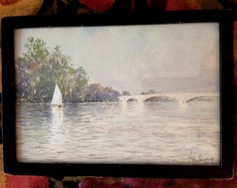 Vintage Daniel Warry Painting