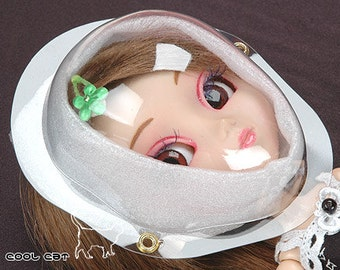 Pullip TY DAL Size Face Guard【L-Size】 / Face Cover / Set of 4 pieces