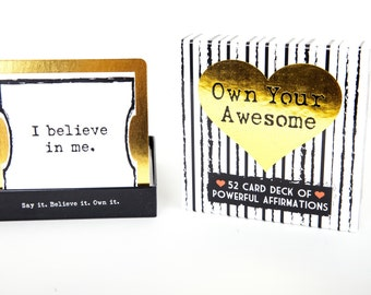 Own Your Awesome™ Affirmation Deck