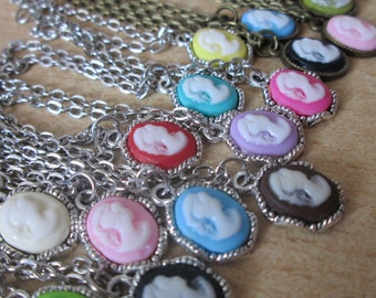 jewelry - cameo necklace for minifee/ MSD / small SD