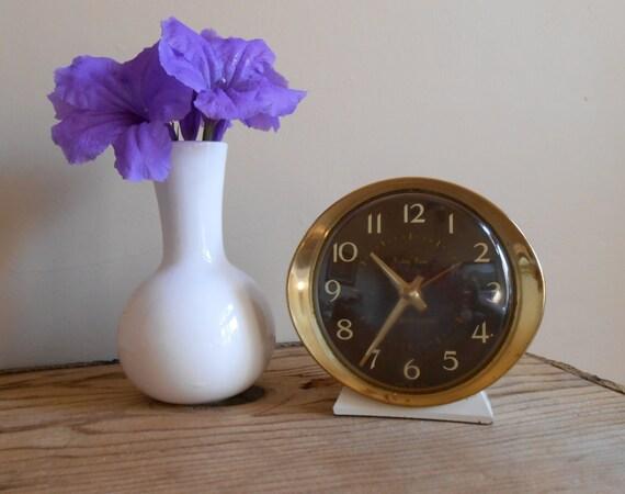 Baby Ben By Westclox 1960s Wind Up Alarm Clock 53632 Works
