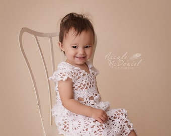 Queen Anne Lace Dress for Baby Girl