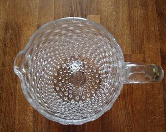 1880s Collectible Antique Pitcher Glass  - Unique