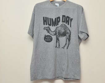 Hump Day Woot Woot Camel Cotton Tee