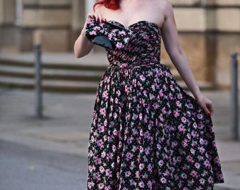 "Petticoat dress ""Roses"""