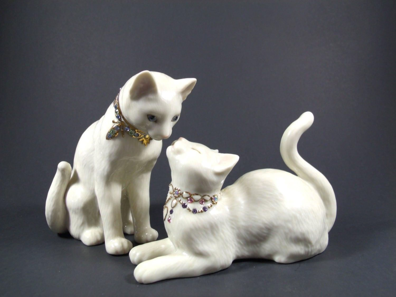 Lenox Black Cat Figurines