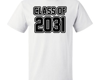 Class of 2031 T-Shirt by Inktastic