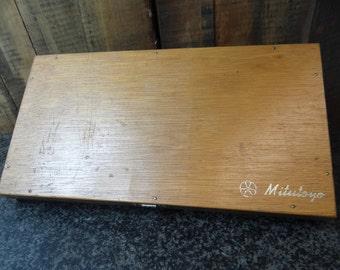 1960's Mitutoyo Box