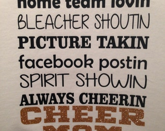 CHEER  MOM (front&back)