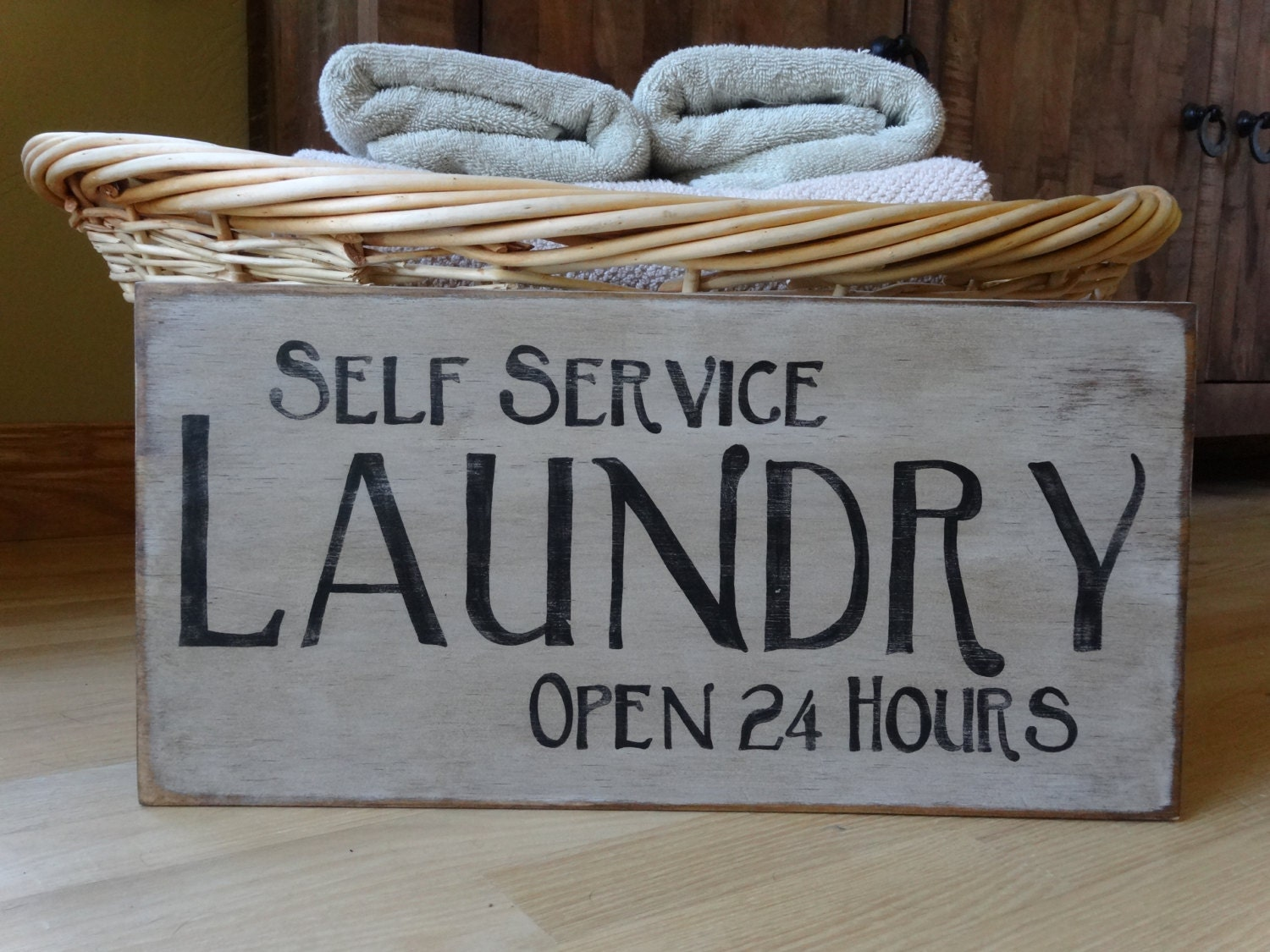 Self Service Laundry ~ Laundry sign self service open hours by mythoughtsexactly