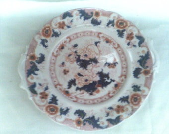 Cake / Pastry Plate Royal Crown Derby Imari